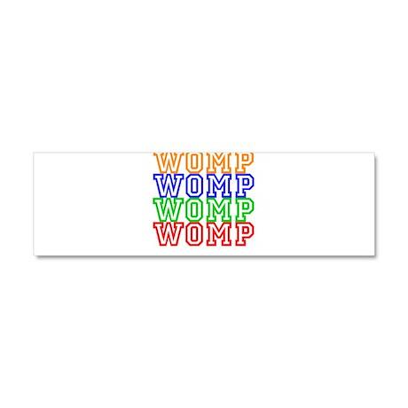 WompWompWomp Car Magnet 10 x 3