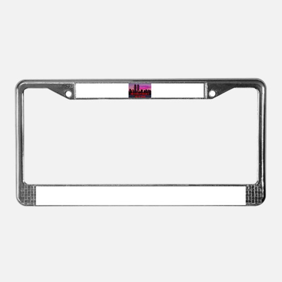 NEVER FORGET 09-11-2001 License Plate Frame