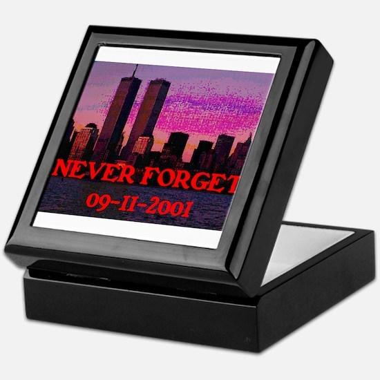 NEVER FORGET 09-11-2001 Keepsake Box