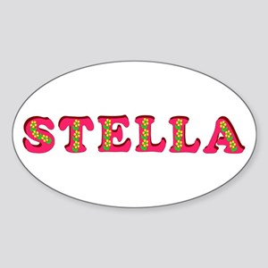 Stella Sticker (Oval)