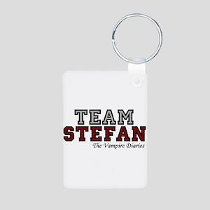 Team Stefan Aluminum Photo Keychain