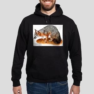 Gray Fox Hoodie (dark)