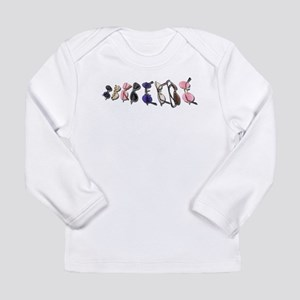 Variety of Colorful Glasses Long Sleeve Infant T-S