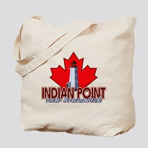 Indian Point Lighthouse Tote Bag