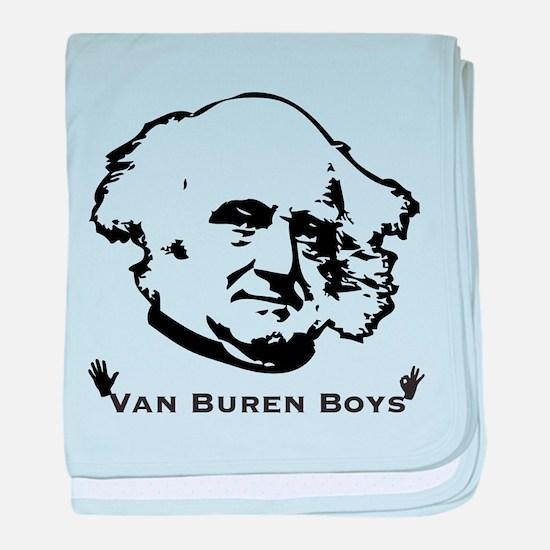 Van Buren Boys baby blanket