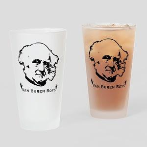 Van Buren Boys Drinking Glass