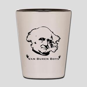 Van Buren Boys Shot Glass