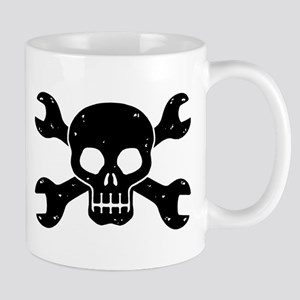 Mechanic Skull Mug