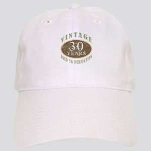 Vintage 30th Birthday Cap