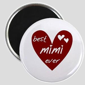 Heart Best Mimi Ever Magnet