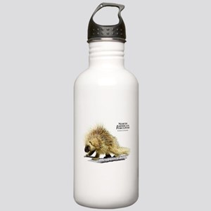 North American Porcupine Stainless Water Bottle 1.