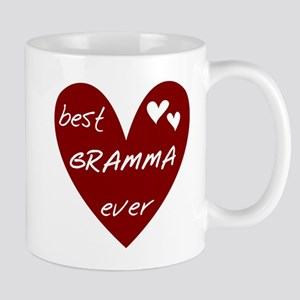 Heart Best Gramma Ever Mug
