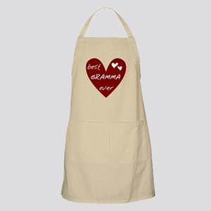 Heart Best Gramma Ever Apron