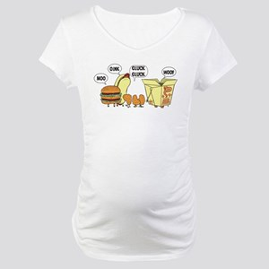 Cats and Dogs Maternity T-Shirt