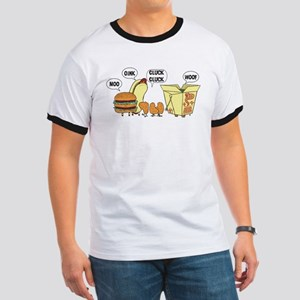 Cats and Dogs Ringer T