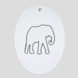 White Elephant Gift Christmas Gag Joke Ornament (O