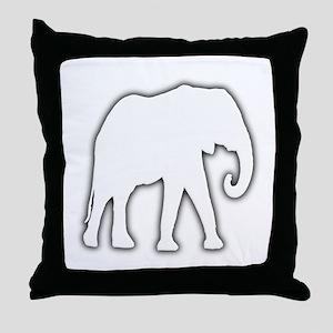 White Elephant Gift Christmas Gag Joke Throw Pillo