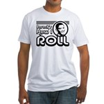 Obama - Barack's How I Roll Fitted T-Shirt