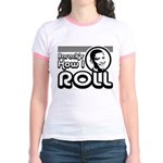 Obama - Barack's How I Roll Jr. Ringer T-Shirt