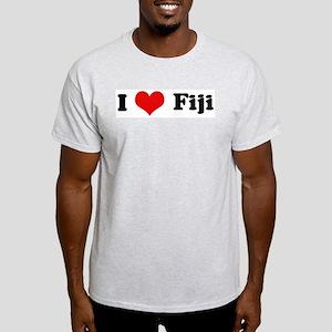 I Love Fiji Ash Grey T-Shirt