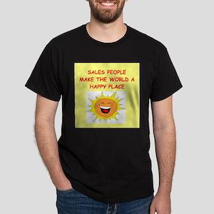 sales person Dark T-Shirt