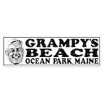Grampy's Beach Sticker (Bumper)