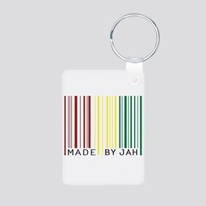 made by jah Aluminum Photo Keychain