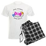 Real women have balls Men's Light Pajamas