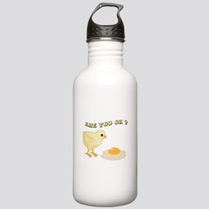 Are you O.K ? Stainless Water Bottle 1.0L