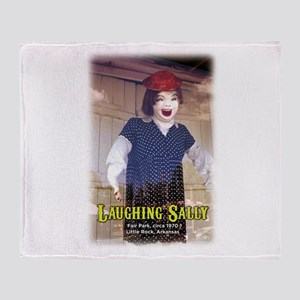 Laughing Sally Full Throw Blanket