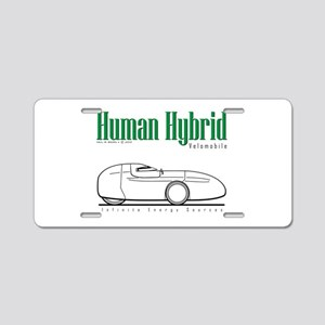 Velomobile Aluminum License Plate