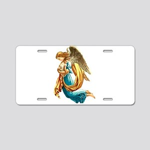 Angel with Child Aluminum License Plate