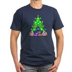 Hanukkah and Christmas Family Men's Fitted T-Shirt