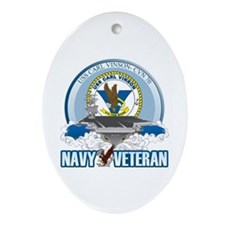CVN-70 USS Carl Vinson Ornament (Oval)