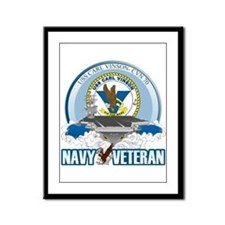 CVN-70 USS Carl Vinson Framed Panel Print