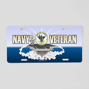 CVN-70 USS Carl Vinson Aluminum License Plate