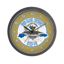 CVN-70 USS Carl Vinson Wall Clock