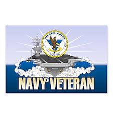 CVN-70 USS Carl Vinson Postcards (Package of 8)