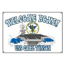 Welcome Carl Vinson! Banner