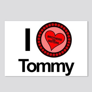 I Love Tommy Brothers & Sisters Postcards (Package