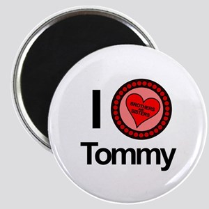 I Love Tommy Brothers & Sisters Magnet