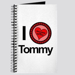 I Love Tommy Brothers & Sisters Journal