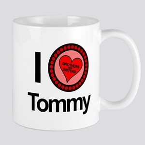 I Love Tommy Brothers & Sisters Mug
