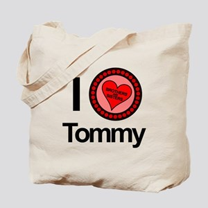 I Love Tommy Brothers & Sisters Tote Bag