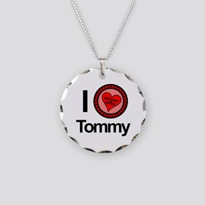 I Love Tommy Brothers & Sisters Necklace Circle Ch
