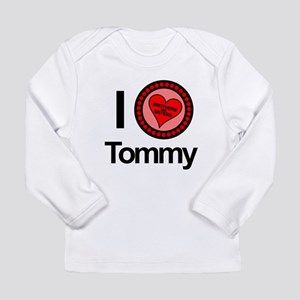 I Love Tommy Brothers & Sisters Long Sleeve Infant