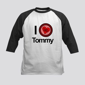 I Love Tommy Brothers & Sisters Kids Baseball Jers