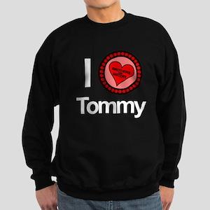 I Love Tommy Brothers & Sisters Sweatshirt (dark)