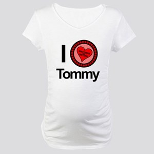 I Love Tommy Brothers & Sisters Maternity T-Shirt