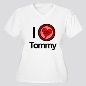I Love Tommy Brothers & Sisters Women's Plus Size